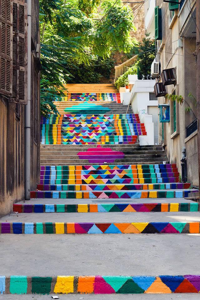 arte urbano escaleras (3)