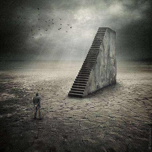 escalera infinita
