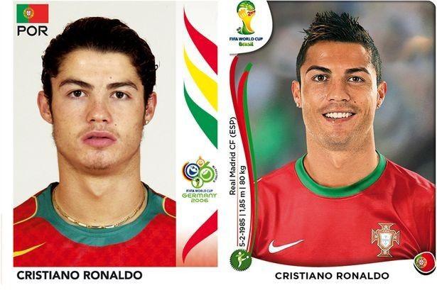 jugadores de la copa del mundo antes y despues (2)