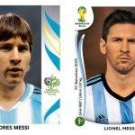 Cracks de la Copa Mundial de Fútbol antes y después