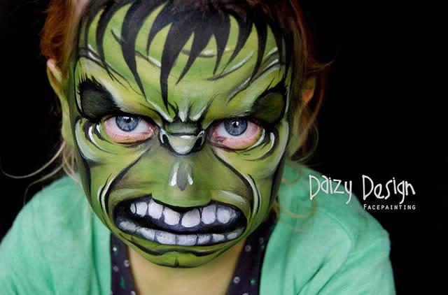 Maquillaje de Fantasia Daizy Design (1)