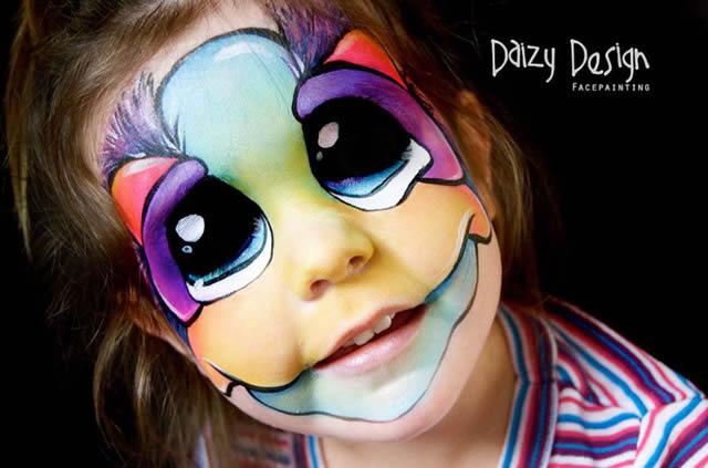 Maquillaje de Fantasia Daizy Design (6)