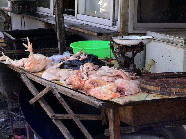 pollo mercado