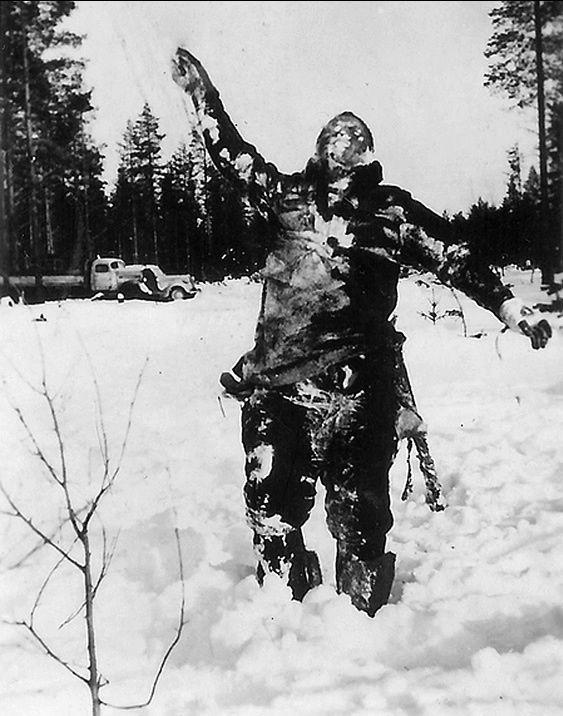 soldado sovietico congelado