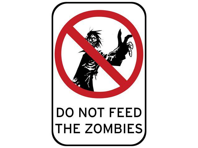 alimenta a los zombis