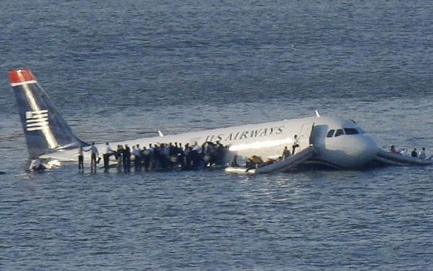A320 US Airways accidente rio hudson