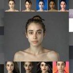 """Mujer """"photoshopea"""" su rostro para examinar los estándares de belleza"""