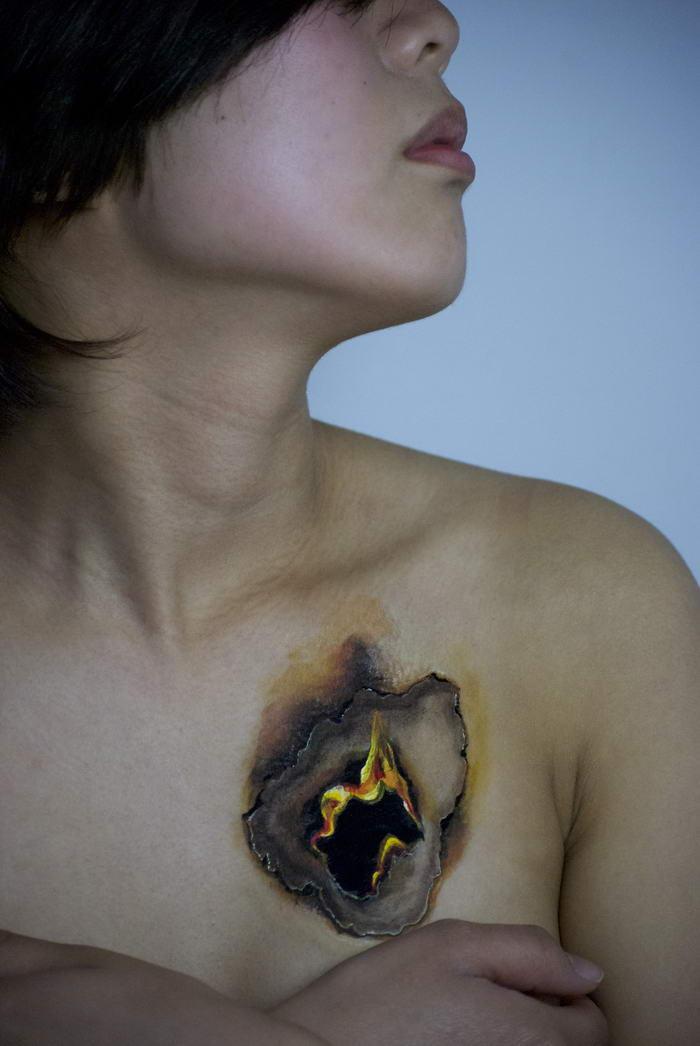 Body Paint por Hikaru Cho (9)
