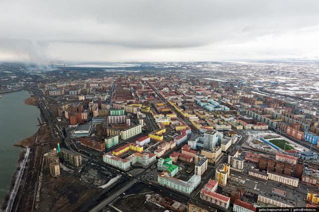 Norilsk ciudad minera Rusia (3)