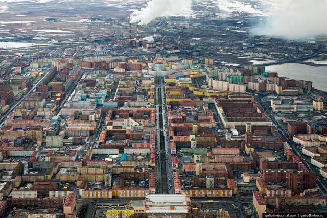 Norilsk ciudad minera Rusia (2)