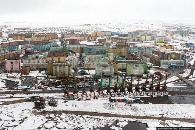 Norilsk ciudad minera Rusia (8)