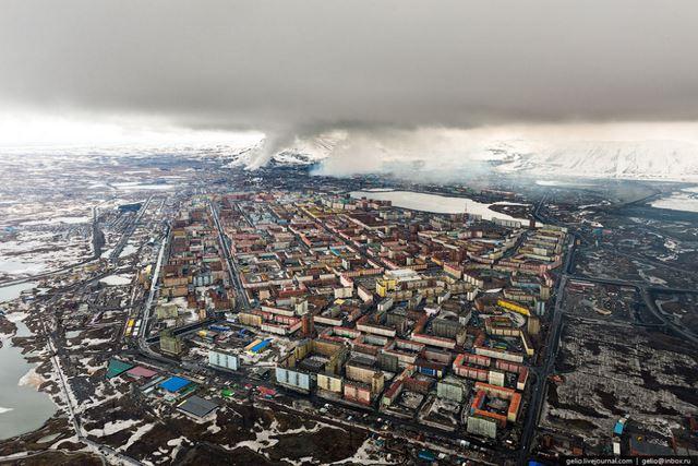 Norilsk ciudad minera Rusia (4)