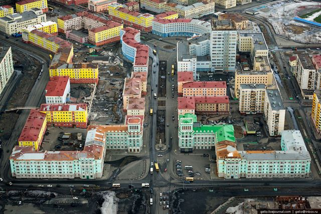 Norilsk ciudad minera Rusia (1)