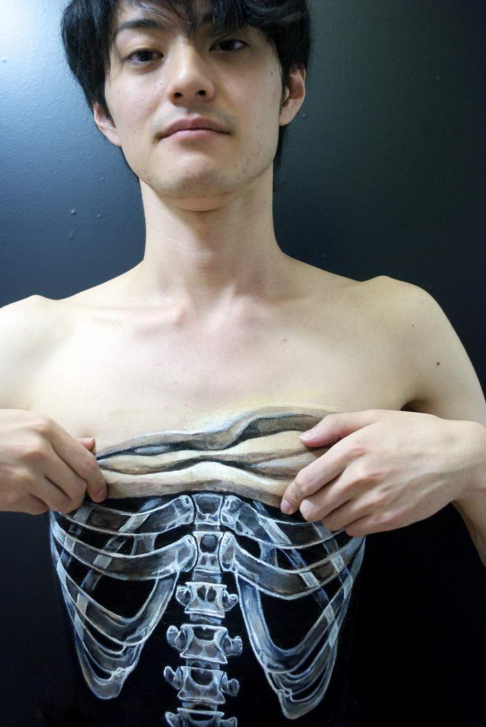 Body Paint por Hikaru Cho (2)