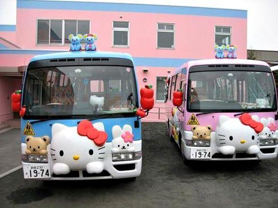 Autobus escolar en Japón (17)