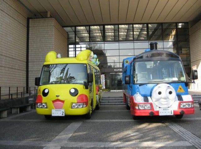 Autobus escolar en Japón (16)