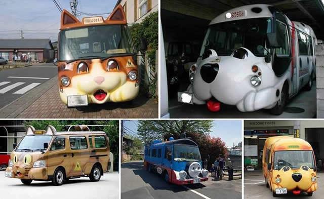 Autobus escolar en Japón (8)