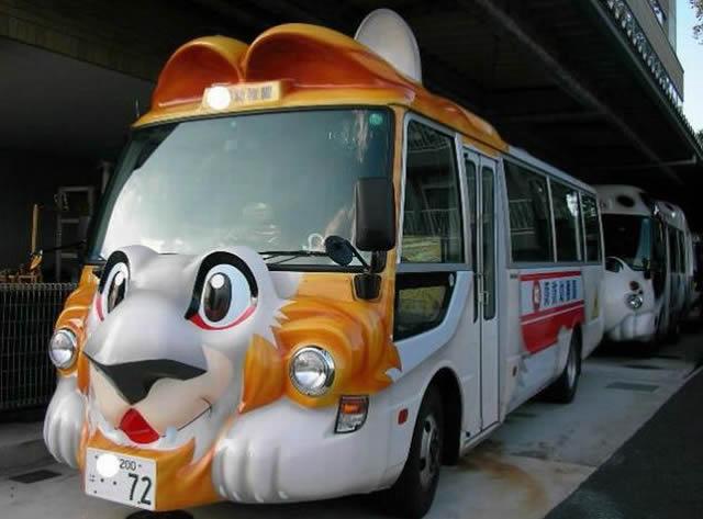 Autobus escolar en Japón (11)