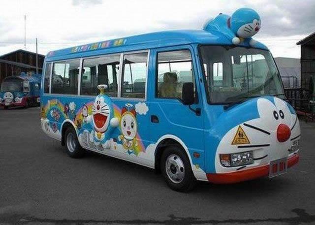 Autobus escolar en Japón (10)