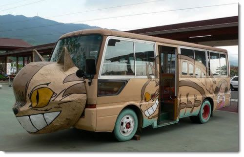 Autobus escolar en Japón (3)