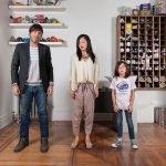 Fotografías muestran la belleza de la mezcla de razas en las familias