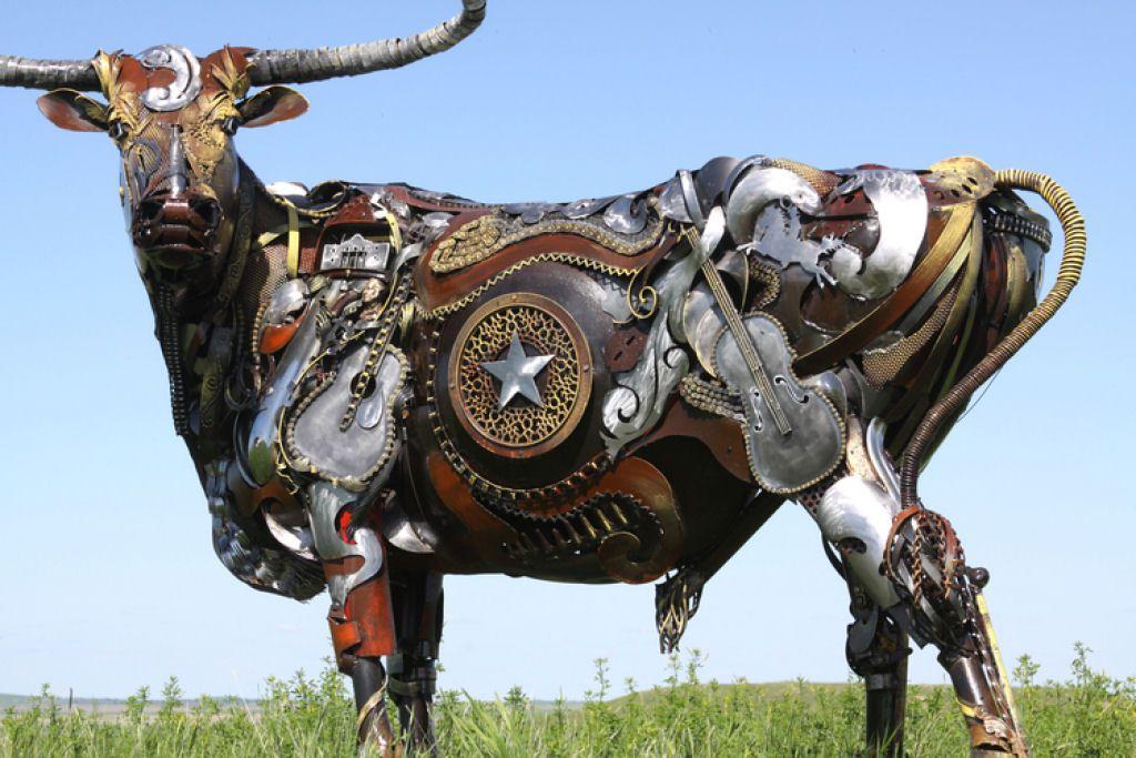 John Lopez esculturas metalicas (1)