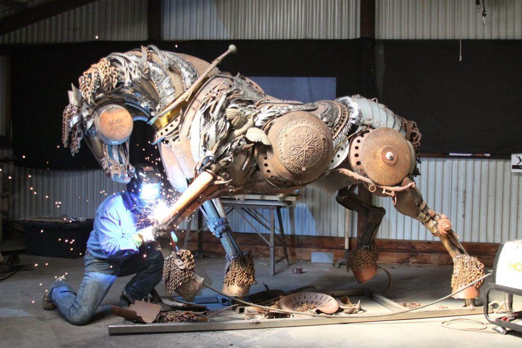 John Lopez esculturas metalicas (15)