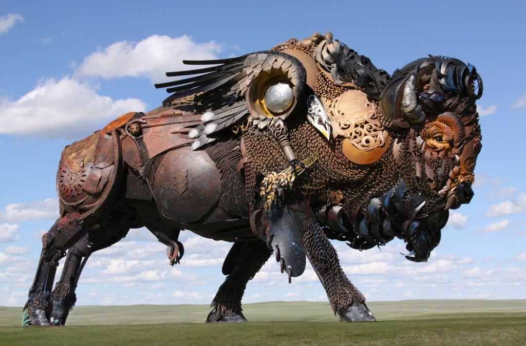 John Lopez esculturas metalicas (14)
