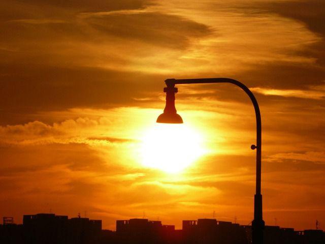 lampara sol