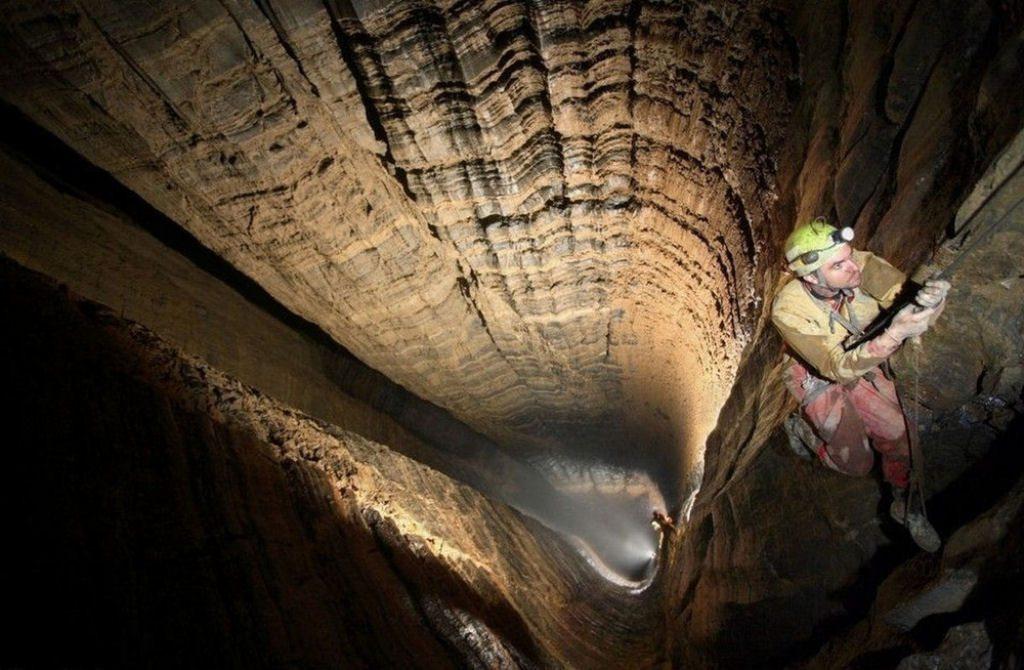 Caverna Krubera en Abjasia (6)