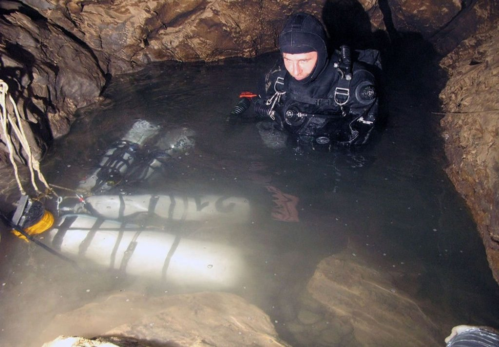 Caverna Krubera en Abjasia (1)