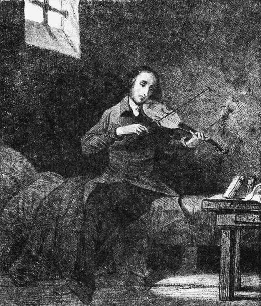 Paganini en prision