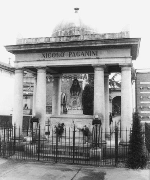 tumba de Paganini