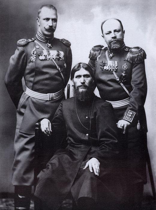 Rasputin y oficiales