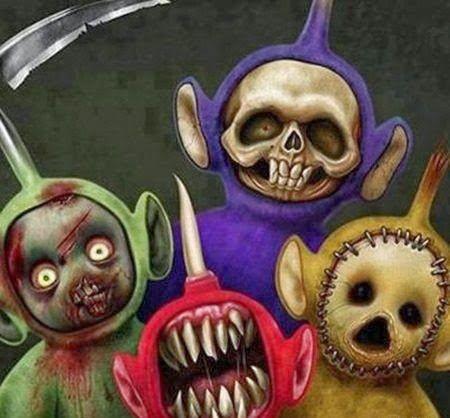 Teletubbies creepy