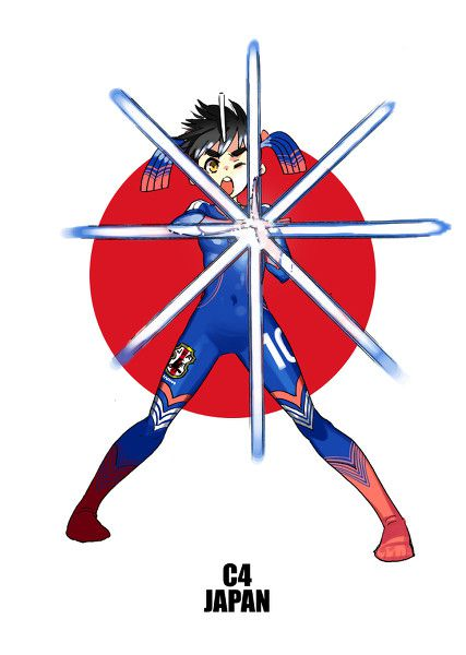 Personajes anime copa del mundo (2)