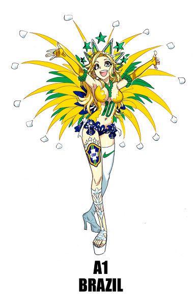 Personajes anime copa del mundo (29)