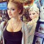 "Anna Faith Carlson, la princesa ""Elsa"" de Frozen en la vida real"
