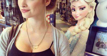 Anna Faith es Elsa Fronzen (4)