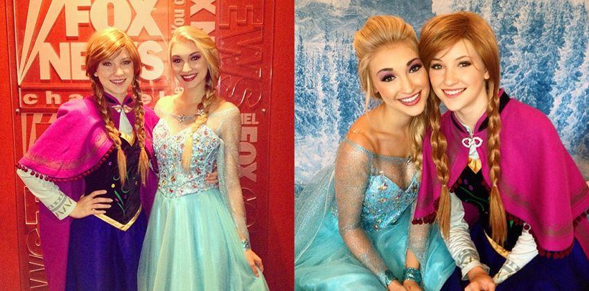 Anna Faith es Elsa Fronzen (3)
