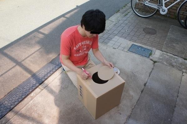 Japonés crea un cañón de flatulencias (2)