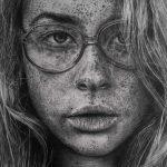 Increíbles dibujos fotorrealistas a lápiz de Monica Lee