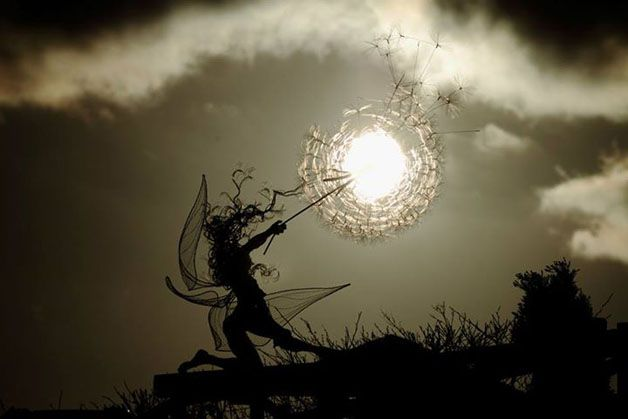 esculturas hadas alambre (1)