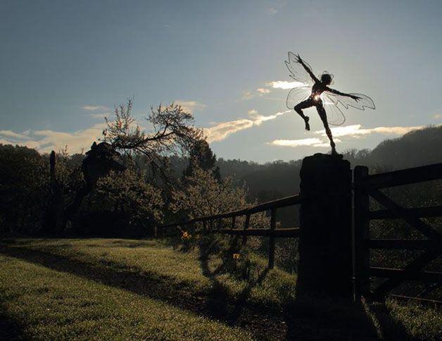 esculturas hadas alambre (10)