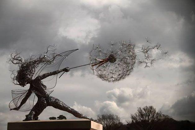 esculturas hadas alambre (8)