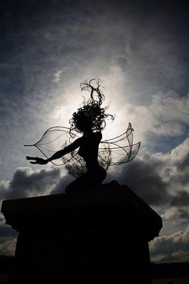 esculturas hadas alambre (7)
