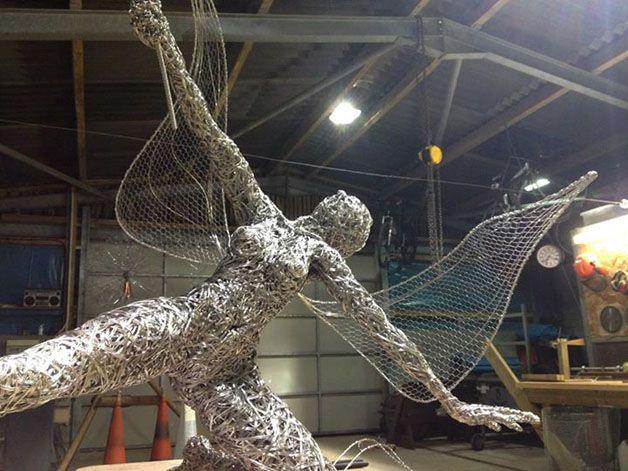 esculturas hadas alambre (3)