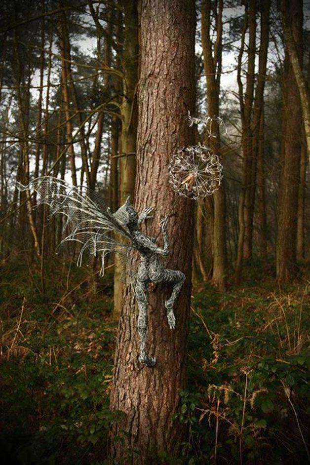 esculturas hadas alambre (17)