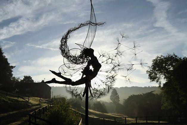 esculturas hadas alambre (2)