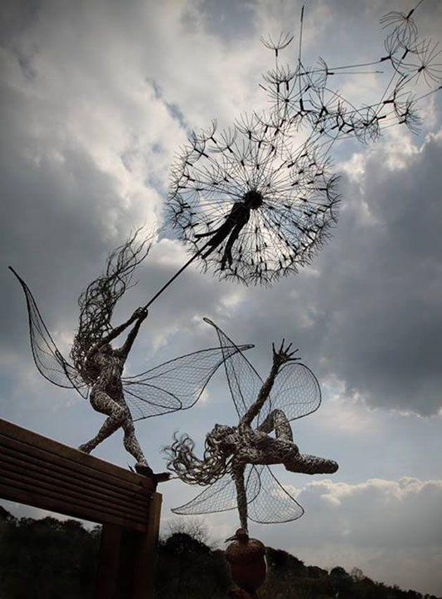 esculturas hadas alambre (13)